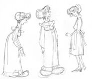 NIMH pre produc drawings fitzgibbons women 001