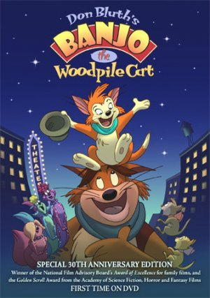 Banjo the Woodpile Cat DVD Poster