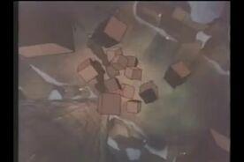 Boxes fall