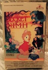 NIMH 1983 VHS
