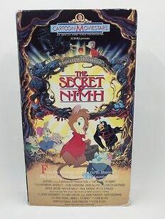 NIMH 1990 VHS
