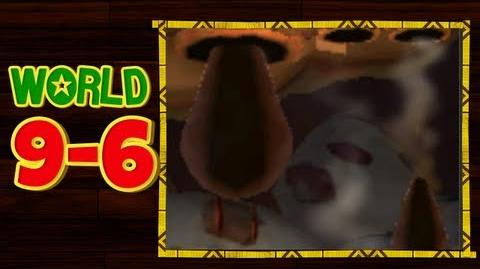 Donkey Kong Country Returns 3D - 9-6 Tar Ball Fall All Puzzle Pieces