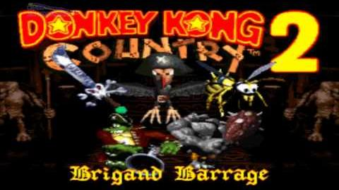 Diddy only - Donkey Kong Country 2 Brigand Barrage (Boss Rush) (SNES Rom Hack)