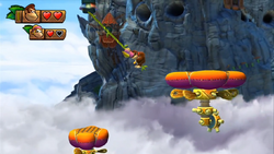Donkey Kong Country Tropical Freeze Level 2 5 Alpine Incline