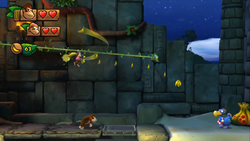 Donkey Kong Country Tropical Freeze Level 1 A Zip-Line Shrine