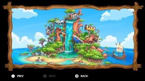 Donkey Kong Country Tropical Freeze - Level 1-4 Trunk Twister All Puzzle Pieces KONG Letters