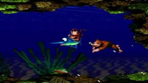 Donkey Kong Country (SNES) - Kongo Jungle - Coral Capers