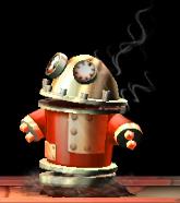 Pyrobot rojo