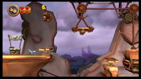 Donkey Kong Country Returns 100% (6-3 Weighty Way)