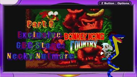 Donkey Kong Country part 9 Bonus Necky nutmare