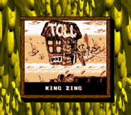 King Zing Credits Screen - Donkey Kong Land 2