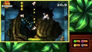 Donkey Kong Country Returns 3D - Level 9-1 Crushin' Columns 100% Walkthrough (3DS Exclusive Level)