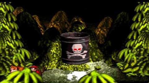 Donkey Kong Country (SNES) - Kremkroc Industries, Inc. - Boss Dumb Drum