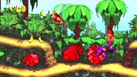 Donkey Kong Country (GBA) - Kongo Jungle - Jungle Hijinxs