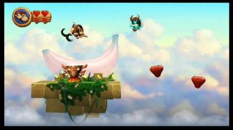 Donkey Kong Country Returns (9-1 Golden Temple)