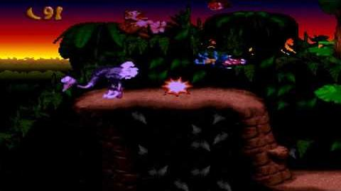 Donkey Kong Country (SNES) - Vine Valley - Orang-utan Gang