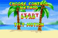 Option Menu 2001 - Diddy Kong Pilot