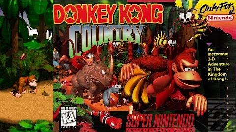 Donkey Kong Country (SNES Intro)
