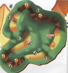 Smokey course map