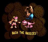 DKC3 Bash the Baddies