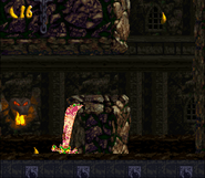 DKC2 - Castle Crush glitch (Kleever)