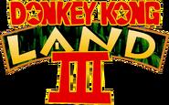 Logo - Donkey Kong Land III