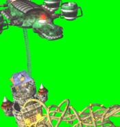 DKC2 GBA - The Flying Krock