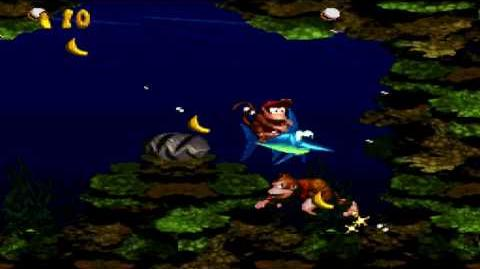 Donkey Kong Country (SNES) - Vine Valley - Clam City