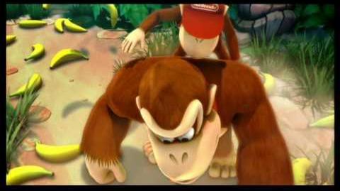 Donkey Kong Country Returns (8-B Tiki Tong Terror Ending)