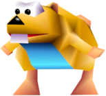 Gnawty amarillo