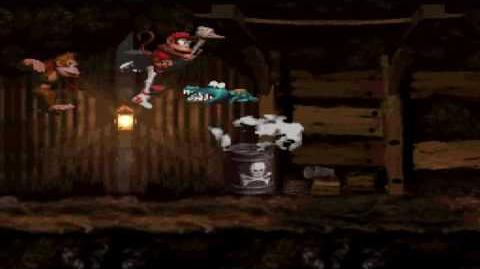 Donkey Kong Country (SNES) - Chimp Caverns - Misty Mine