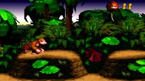 Donkey Kong Country (SNES) - Kongo Jungle - Jungle Hijinxs