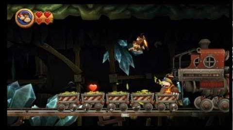 Donkey Kong Country Returns - 4-B The Mole Train