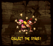 DKC2 Collect Stars