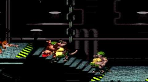 Donkey Kong Country (SNES) - Kremkroc Industries, Inc. - Blackout Basement
