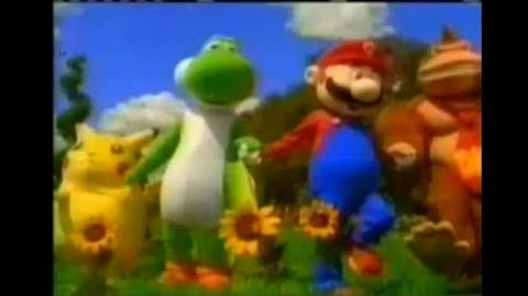 Super Smash Bros (N64 TV Commercial)