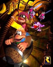 DKC3-pipeline -artwork