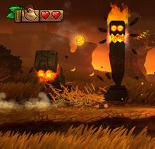 Flaming Pillar