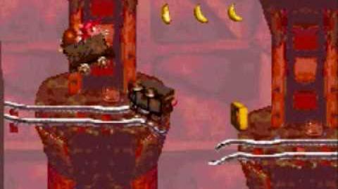 Donkey Kong Country Level 2-2 Mine Cart Carnage