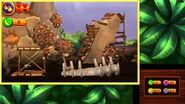 Donkey Kong Country Returns 3D - Level 9-6 Tar Ball Fall 100% Walkthrough (3DS Exclusive Level)