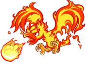 Fire necky