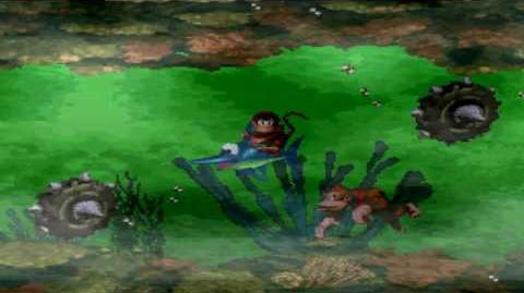 Donkey Kong Country (SNES) - Kremkroc Industries, Inc. - Poison Pond