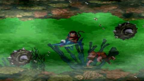 Donkey Kong Country (SNES) - Kremkroc Industries, Inc. - Poison Pond
