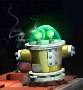 Pyrobot amarillo