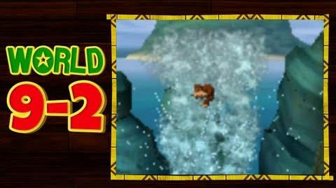 Donkey Kong Country Returns 3D - 9-2 Gushin' Geysers All Puzzle Pieces