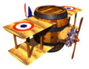 Biplane Barrel