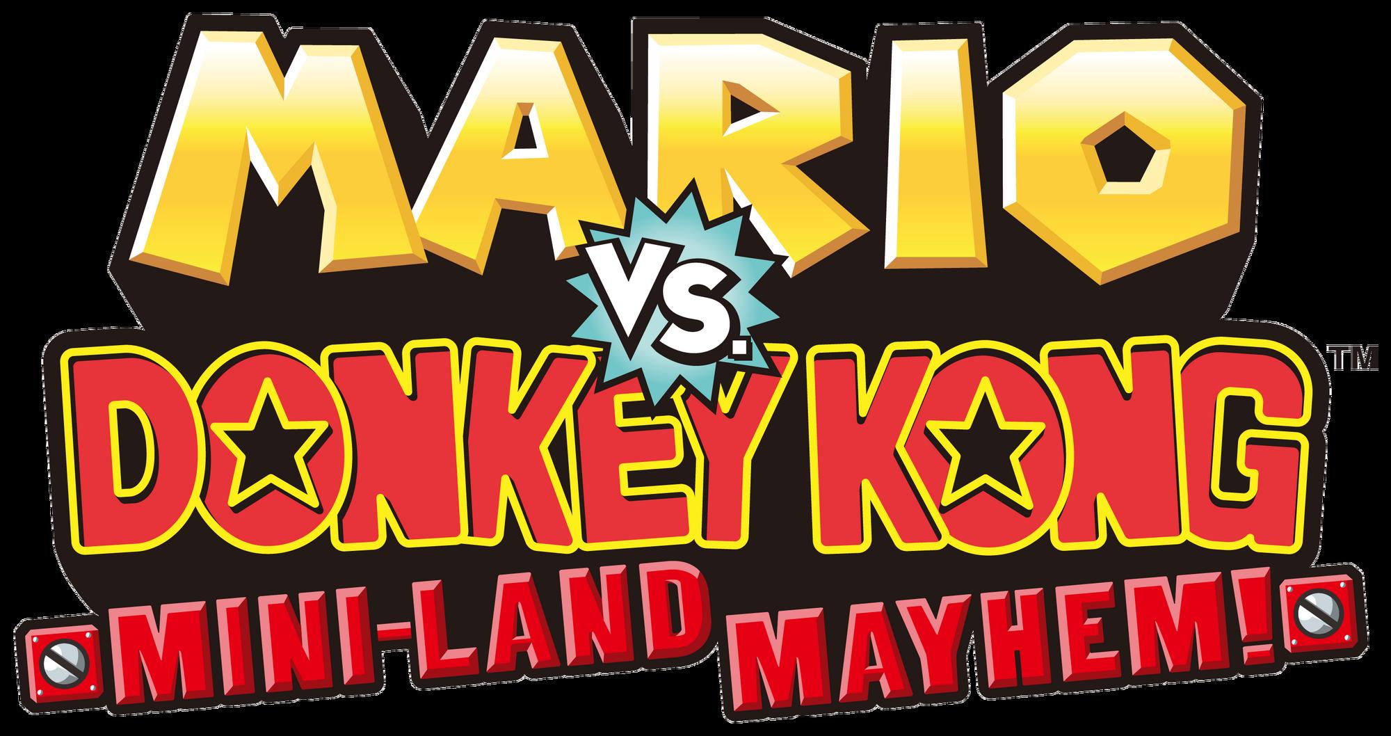 Mario Vs Donkey Kong Mini Land Mayhem Donkey Kong Wiki Fandom