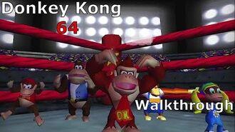 Donkey Kong 64 Walkthrough
