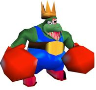 K rool in his boxing uniform