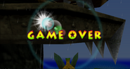 Donkey Kong 64 Game Over